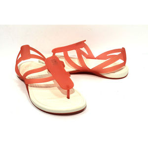 CROCS Coral Adring Strappy Sandals Size 7
